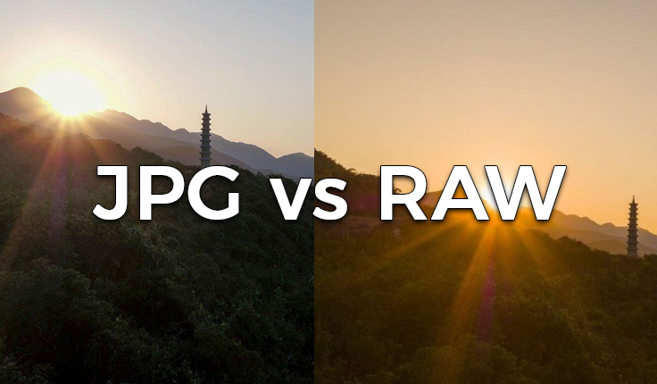JPEG vs RAW – mis vahe neil on?